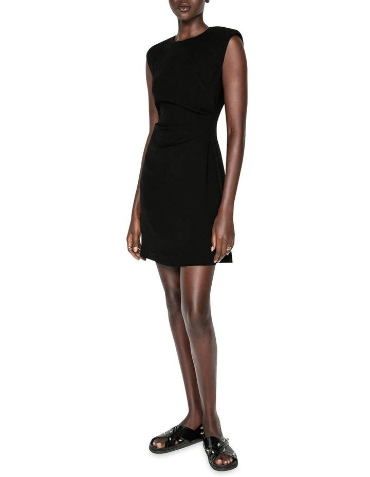 Sharp Shoulder Shift Dress image 1
