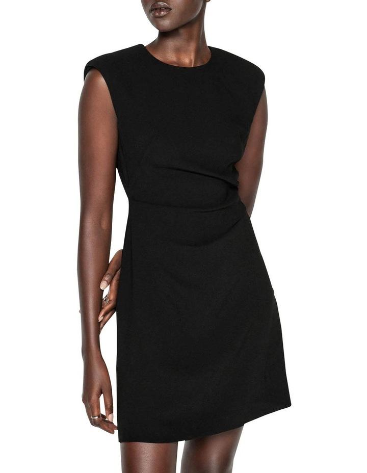 Sharp Shoulder Shift Dress image 2