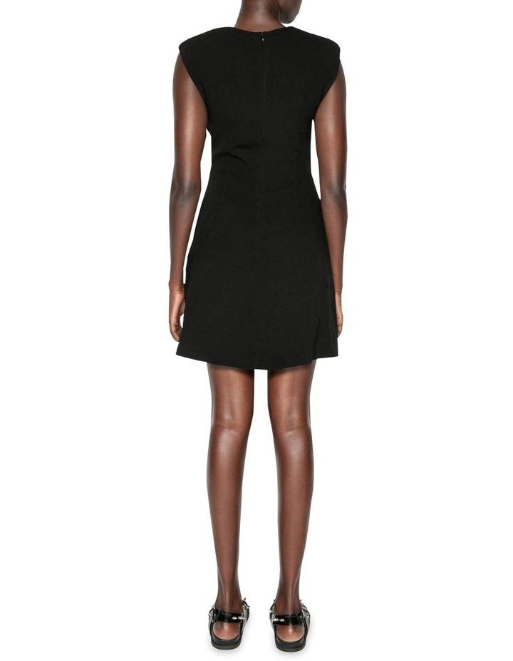 Sharp Shoulder Shift Dress image 3