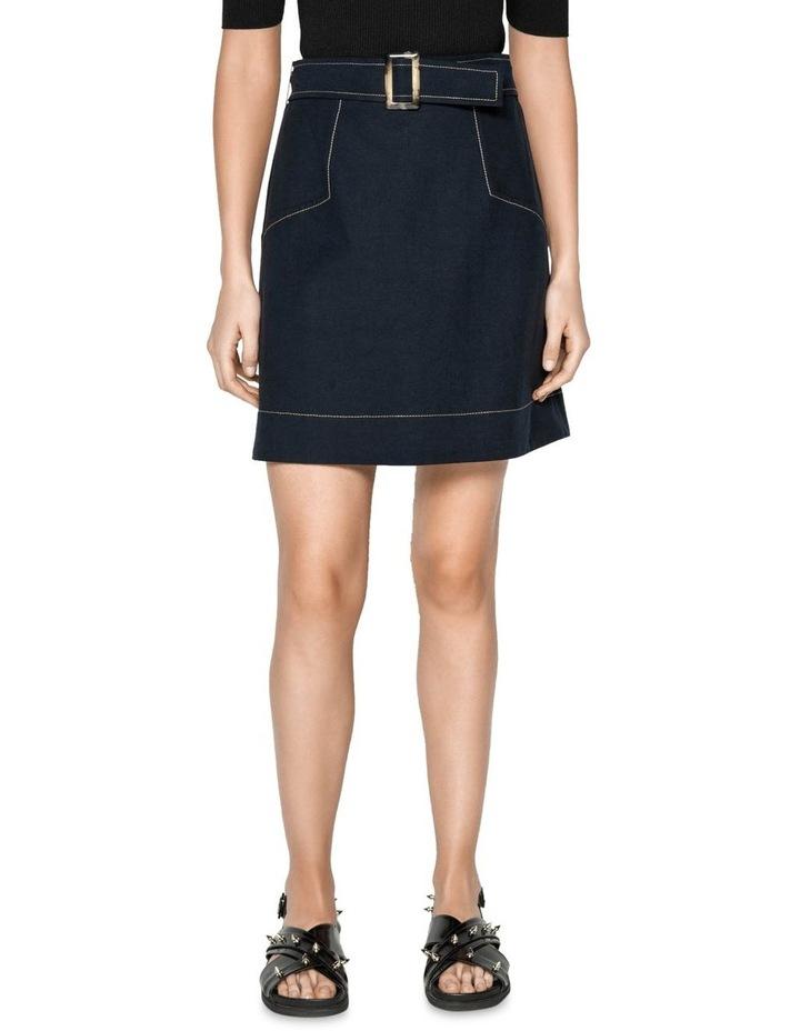 Tencel Cotton Mini Skirt image 2
