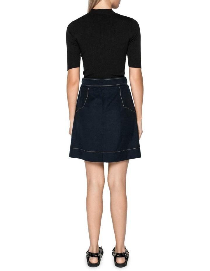 Tencel Cotton Mini Skirt image 3