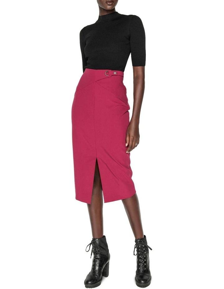 Front Split Pencil Skirt image 1