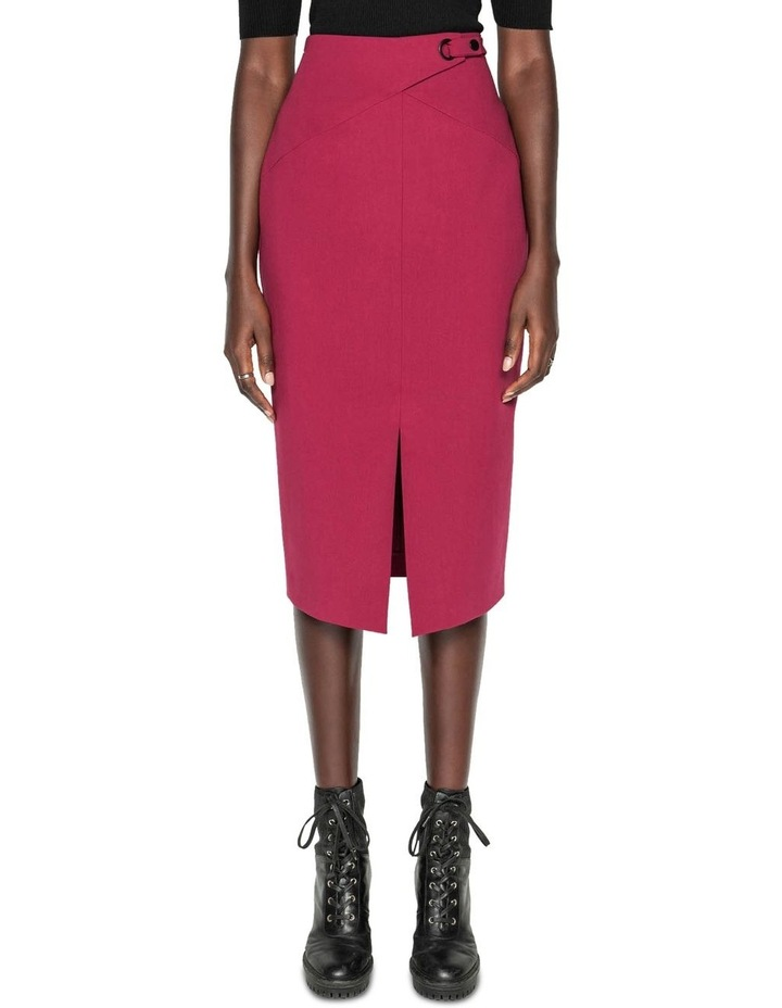 Front Split Pencil Skirt image 2