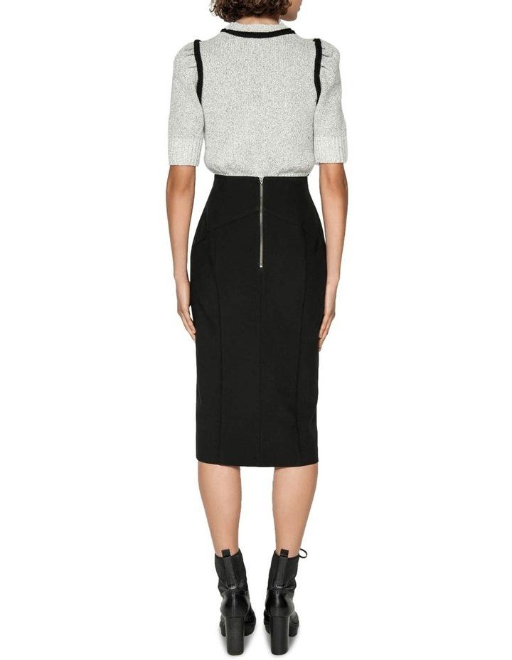 Front Split Pencil Skirt image 3