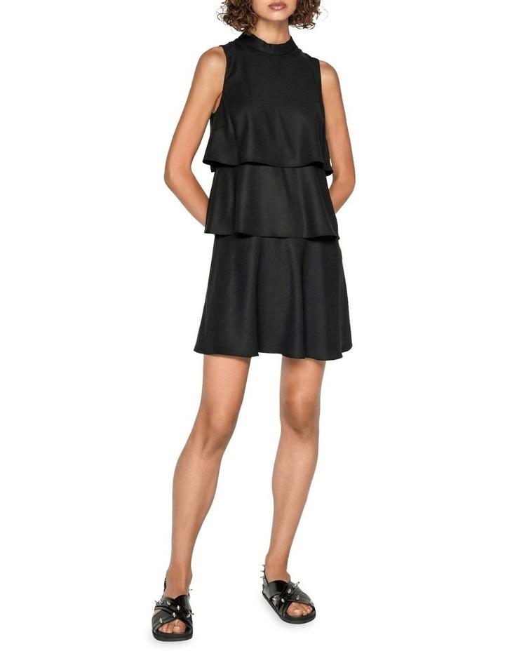 Crepe Tiered Dress image 1