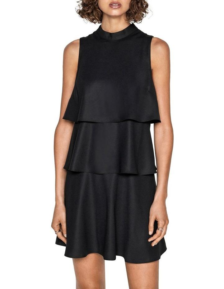Crepe Tiered Dress image 2