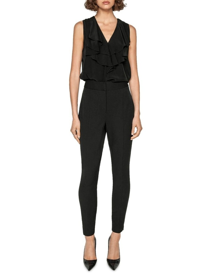 High Waisted Cropped Skinny Pant image 1
