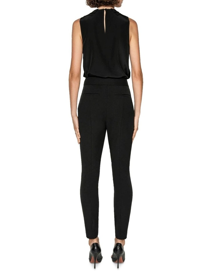 High Waisted Cropped Skinny Pant image 3