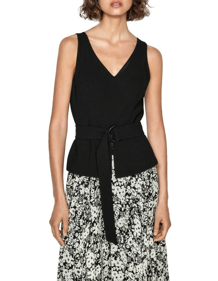 Monochrome Poppy Midi Dress image 2