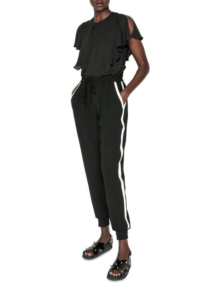 Georgette Frilled Split Sleeve Top image 1