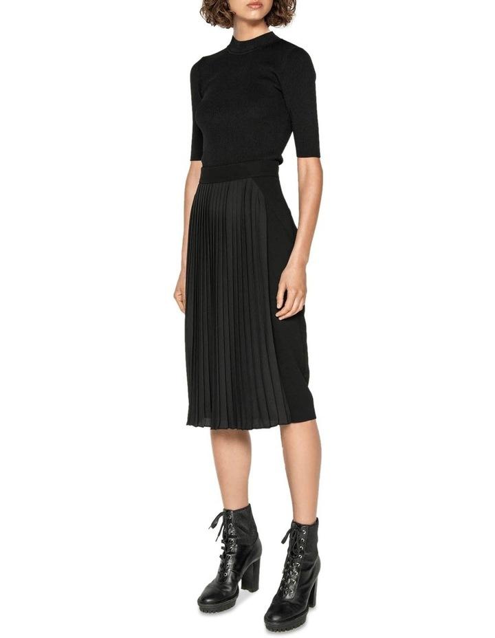 Pleated Pencil Skirt image 1