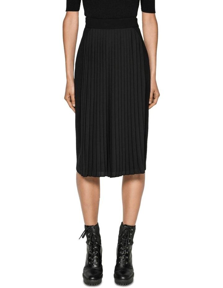 Pleated Pencil Skirt image 2