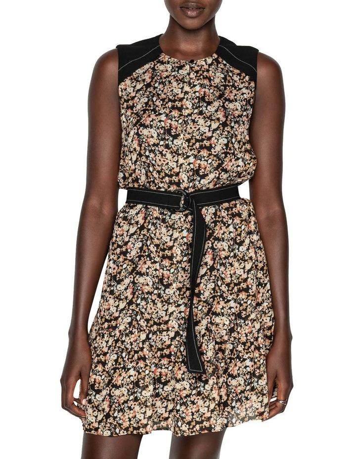 Mini Floral Belted Dress image 2