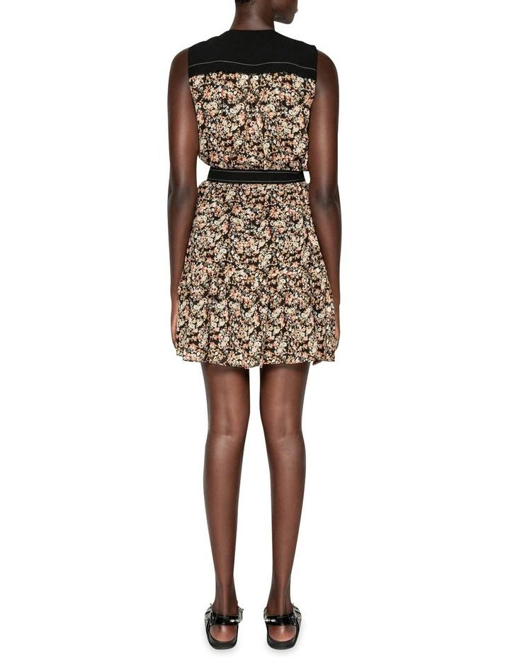 Mini Floral Belted Dress image 3
