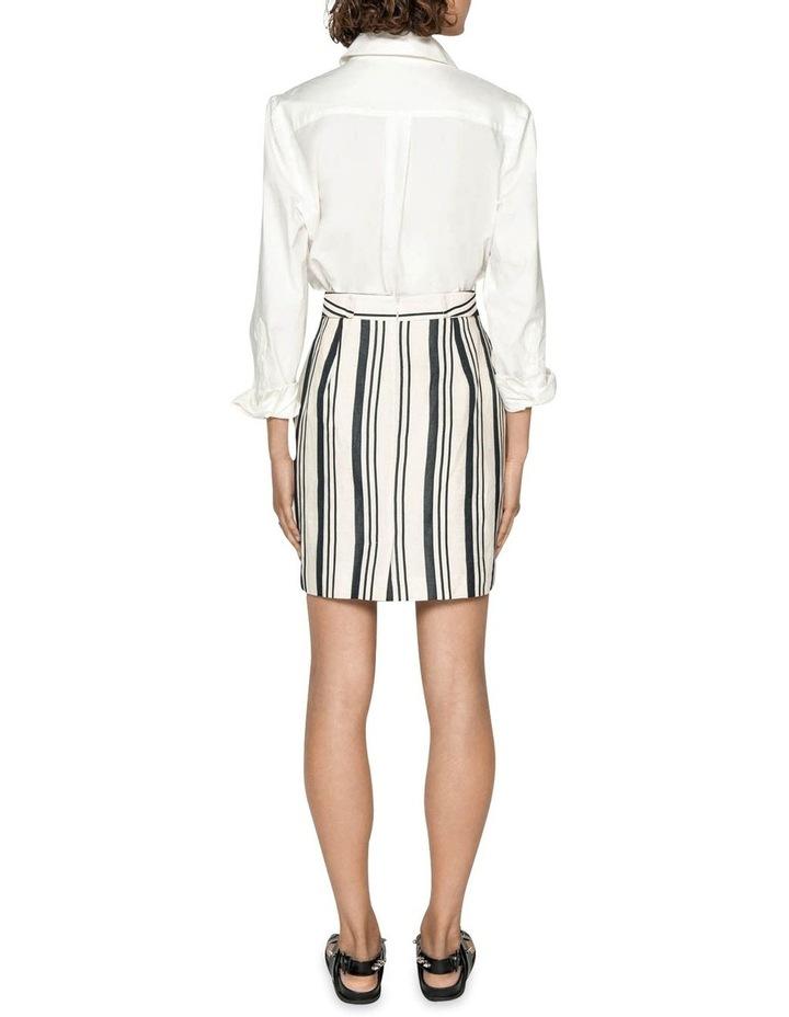 Striped Linen Skirt image 3