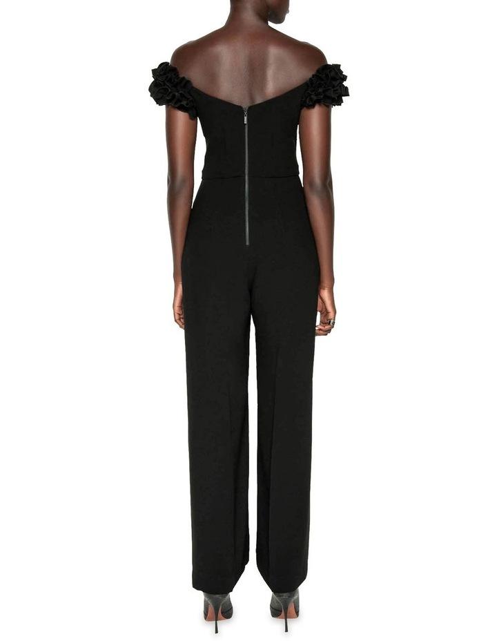 Crepe Ruffle Sleeve Jumpsuit image 3