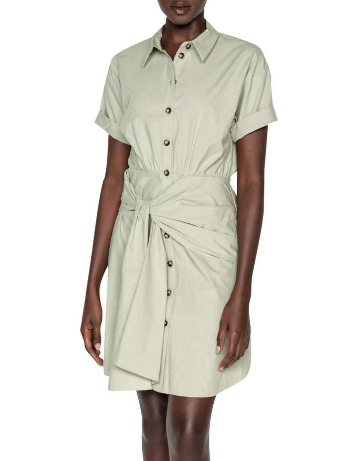 Tie Waist Shirt Dress image 2