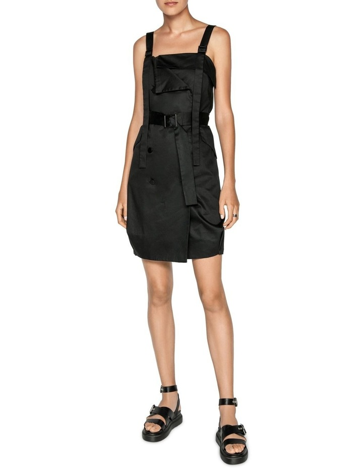 Cotton Belted Button Front Dress image 1