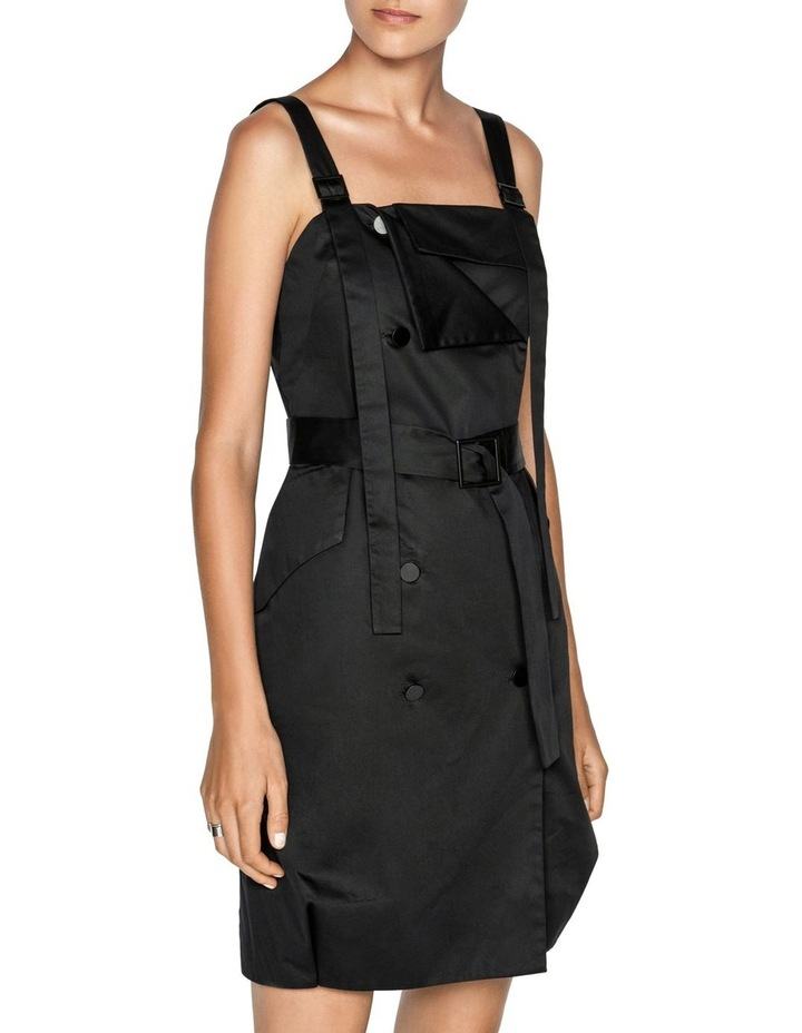 Cotton Belted Button Front Dress image 2