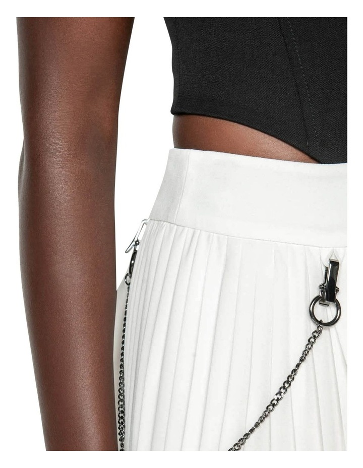 Pleated Column Maxi Skirt image 4