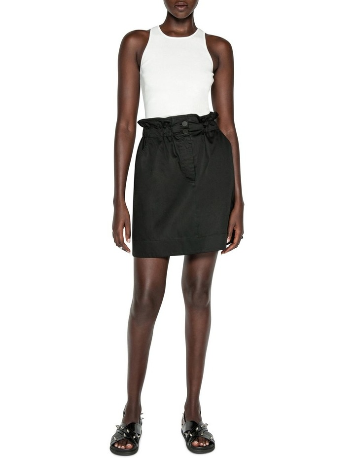 Paper Bag Waist Skirt image 1