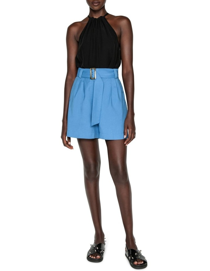 Belted Twill Short image 1