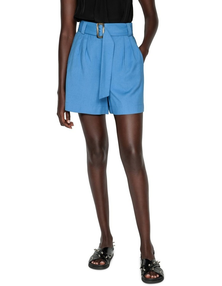 Belted Twill Short image 2