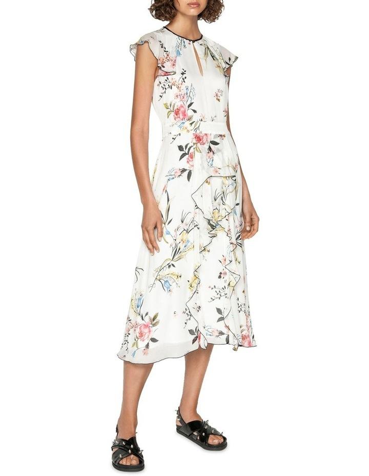 Oriental Blossom Midi Dress image 1