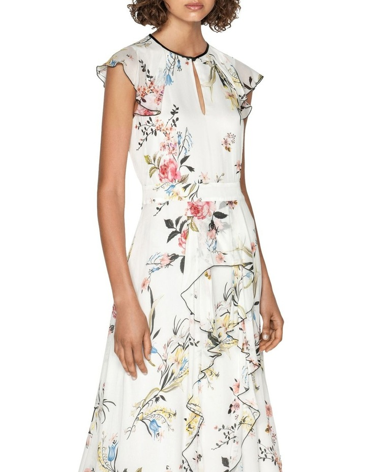 Oriental Blossom Midi Dress image 2