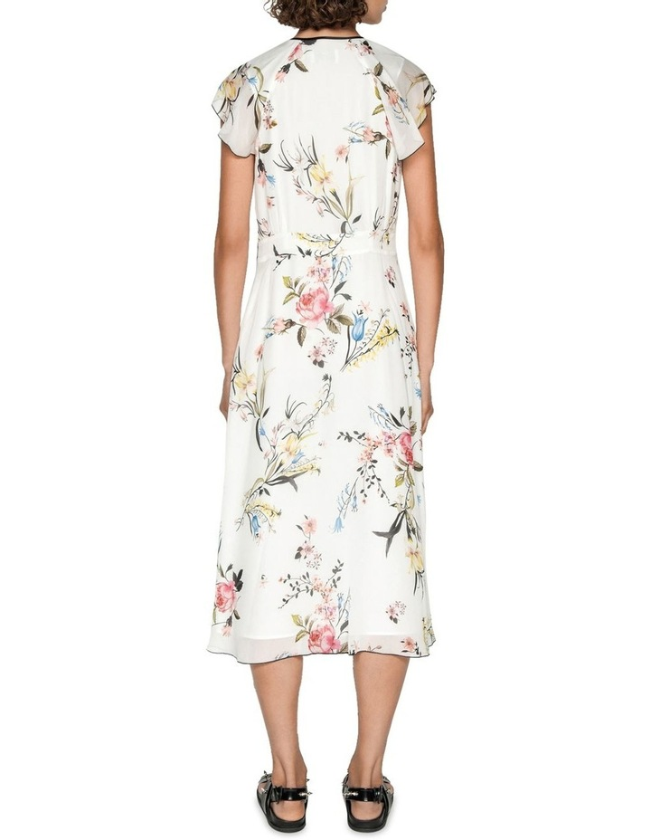 Oriental Blossom Midi Dress image 3