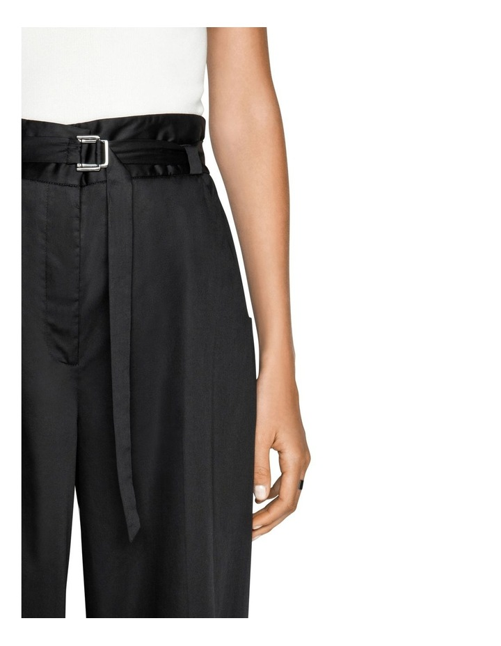 Cotton Belted Wide Leg Pant image 4