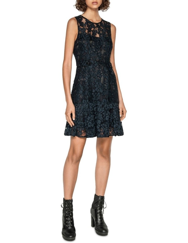 Corded Floral Lace Dress image 1
