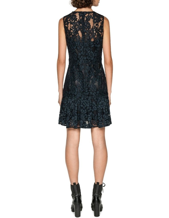 Corded Floral Lace Dress image 3