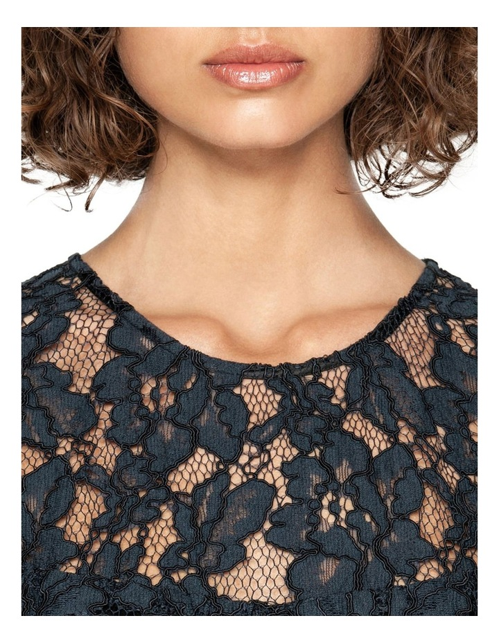 Corded Floral Lace Dress image 4