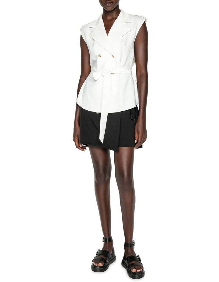 Sleeveless Trench Top image 1