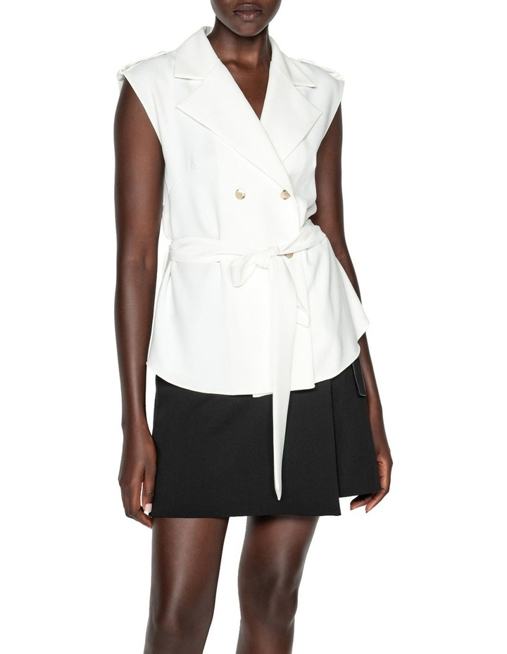 Sleeveless Trench Top image 2