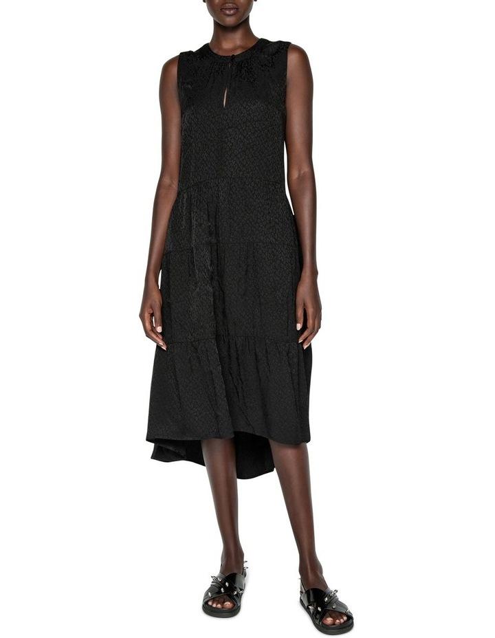 Animal Jacquard Midi Dress image 1