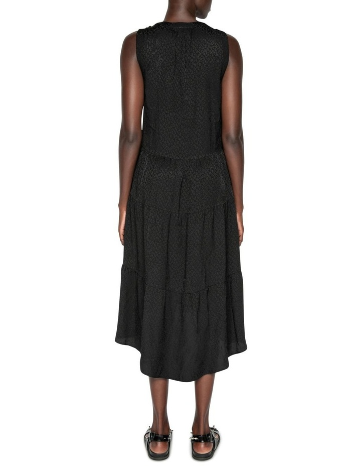 Animal Jacquard Midi Dress image 3