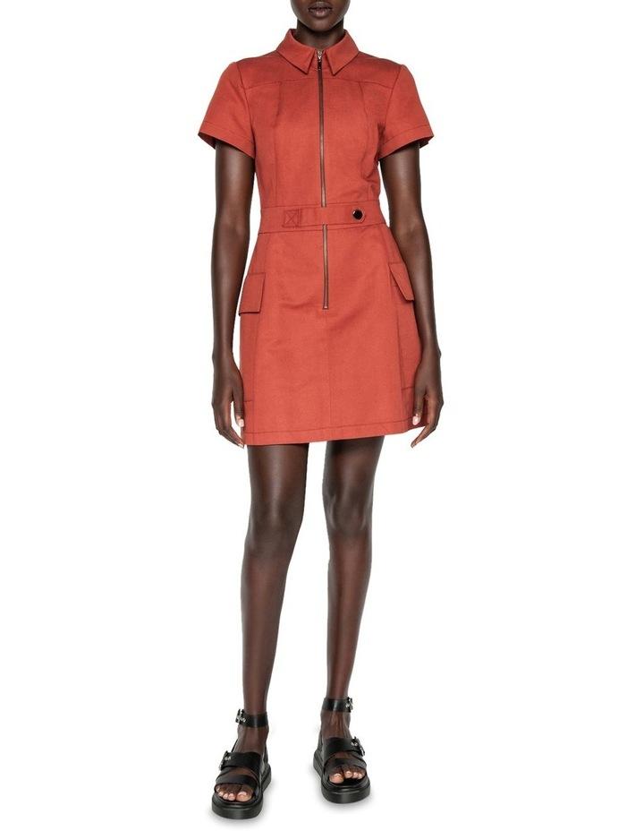 Cotton Linen Twill Utility Dress image 1