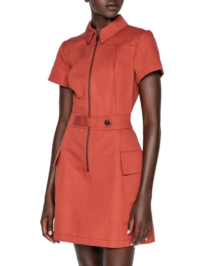 Cotton Linen Twill Utility Dress image 2