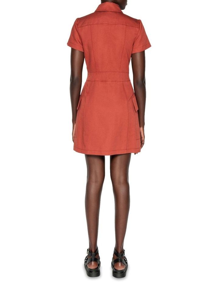 Cotton Linen Twill Utility Dress image 3