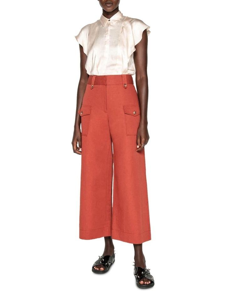 Cotton Linen Twill Pant image 1