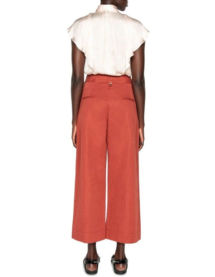 Cotton Linen Twill Pant image 3