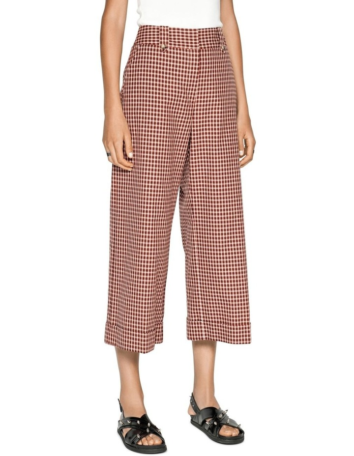 Cotton Linen Window Check Pant image 2