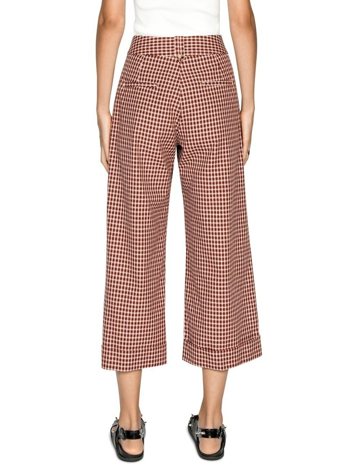 Cotton Linen Window Check Pant image 3