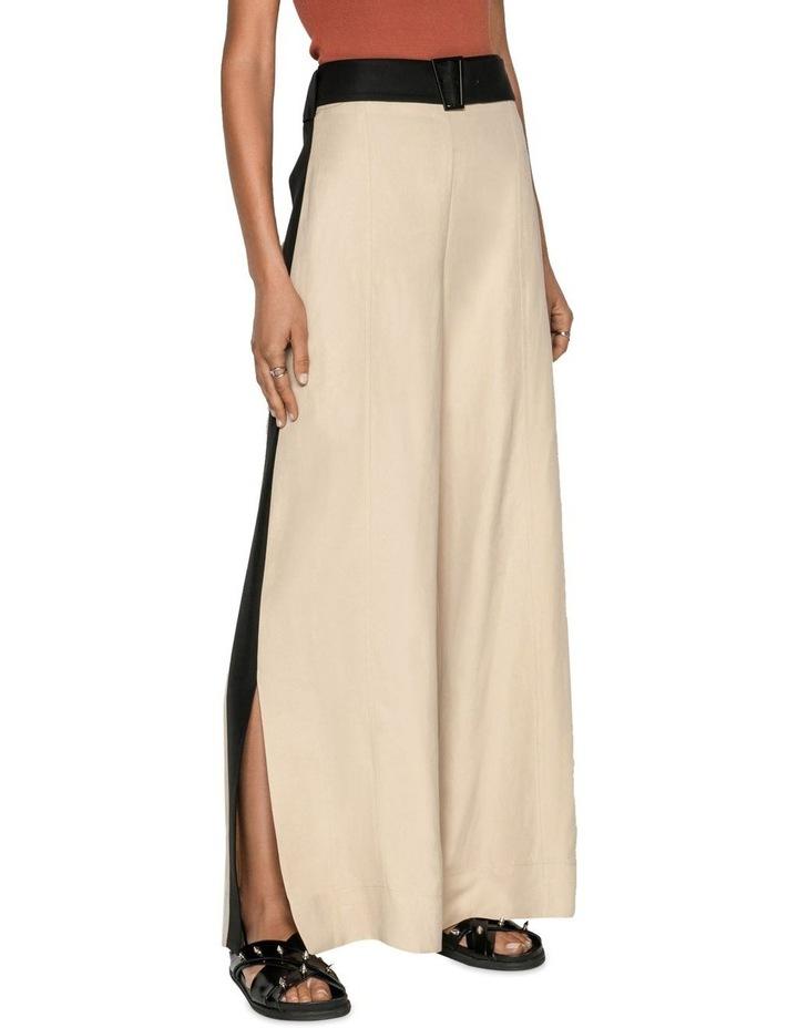 Sand Linen Blend Trouser image 2