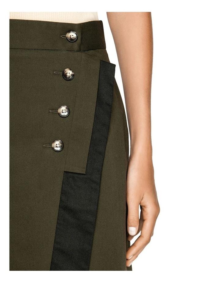 Wrap Front Midi Skirt image 4