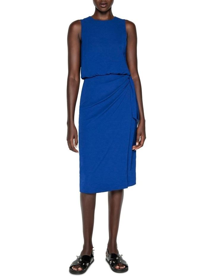 Tie Waist Midi Dress image 1