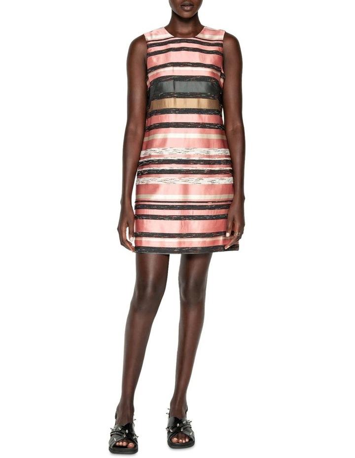 Stripe Jacquard Shift Dress image 1