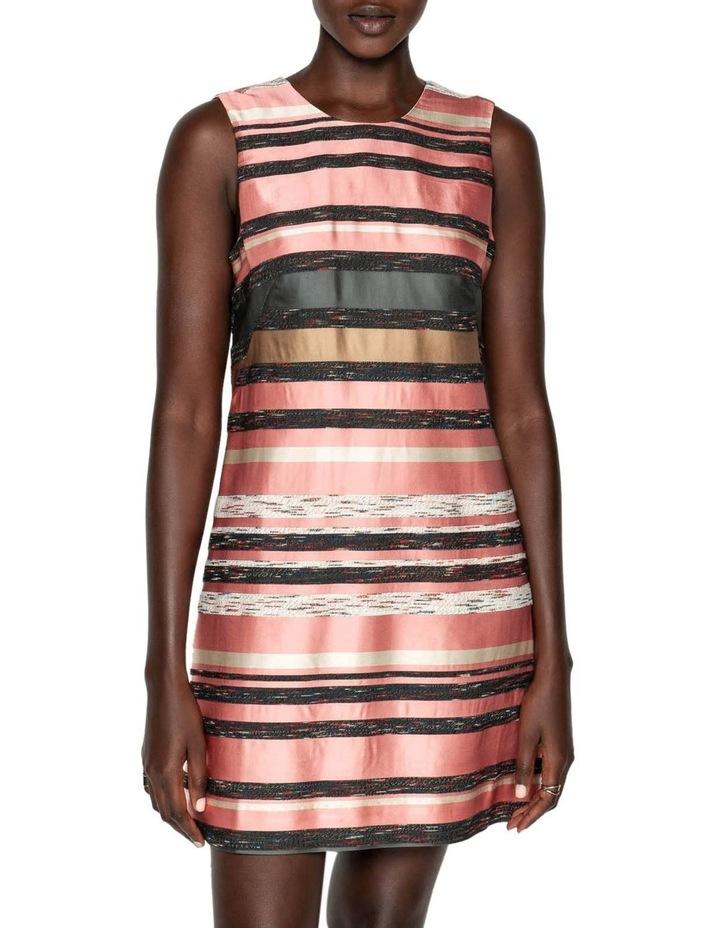 Stripe Jacquard Shift Dress image 2